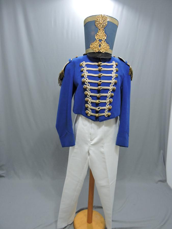 AI Hussard Bleu galon blanc